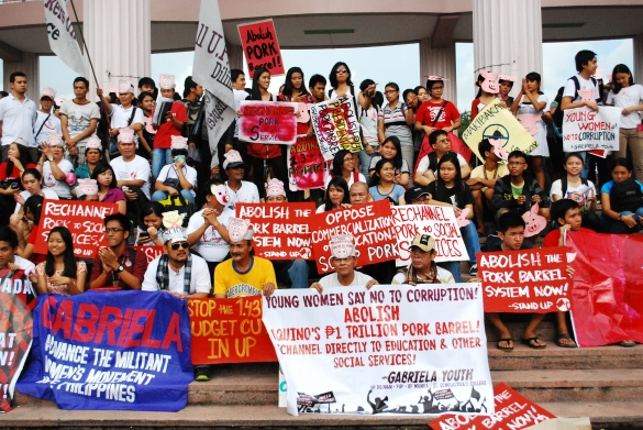 Anti Pork Barrel Rally - University of the Philippines (Diliman) September 11, 2013