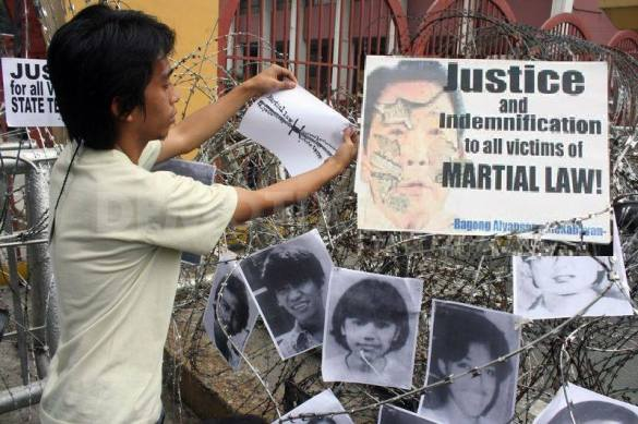 Martial Law 41st Anniversary - Still NO Justice, Still NO Indemnification for Marcos Martial Law Victims