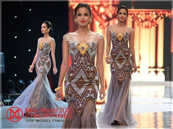Megan Young, Miss Philippines World. Finals tonight. Good luck, Miss Philippines! https://balitangbalita.com/