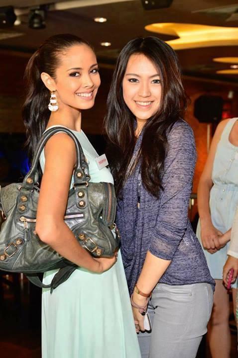 Megan Young, left, Miss Philippines World, among favorites in Miss World Contest. Coronation night tomorrow.  http://balitangbalita.com/