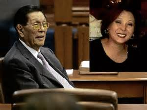 Senator Enrile denies BETRAYING Gigi but does not censure his lawyer, speaking on his behalf, for bashing her.