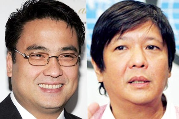 Pork Barrel King Bong Revilla meets Denial King Bong Bong Marcos