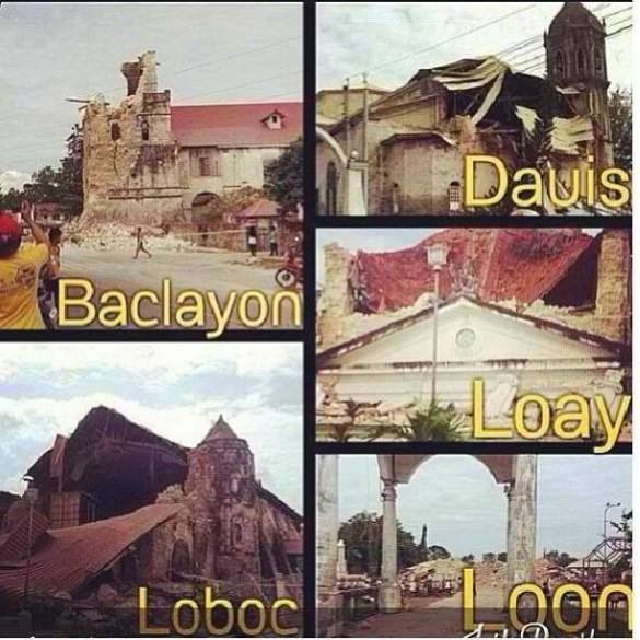 77 now confirmed dead (and counting) http://wp.me/p3Tx0A-1H http://wp.me/p3Tx0A-1E 7.2 Major Philippine Earthquake rocks the Visayas – Bohol (center), nearby areas Cebu, Bacolod, Iloilo, Leyte are also affected http://wp.me/p3QDQJ-g5 http://wp.me/p3QDQJ-r6 http://wp.me/p3QRCo-c6 http://wp.me/p3QRCo-bW http://wp.me/p3QRCo-bW http://wp.me/p3QDQJ-qC http://wp.me/p3QDQJ-p0