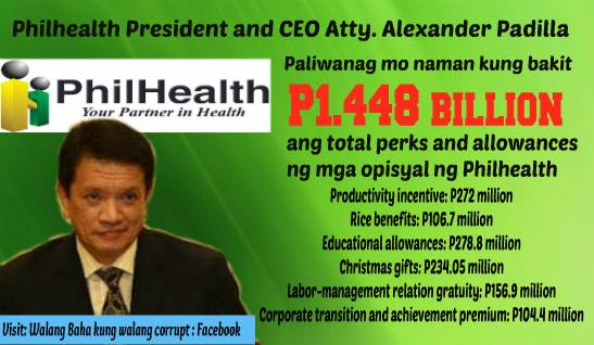PhilHealth, SSS, GSIS, etc. put officer and employee salaries, allowances, benefits, bonuses and other perks as FIRST PRIORITY. Increased premiums as next priority. Increasing member benefits always last thing in their minds. Government monopoly. Mandatory membership. No risk. Bailouts when needed. Inefficient operations. Where is the PUBLIC SERVICE? http://wp.me/p3QDQJ-aV http://wp.me/p3QDQJ-g5 http://wp.me/p3QDQJ-r6 http://wp.me/p3QRCo-c6 http://wp.me/p3QRCo-bW http://wp.me/p3QRCo-bW http://wp.me/p3QDQJ-qC http://wp.me/p3QDQJ-p0
