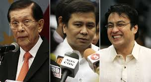 Christmas in JAIL for Bong Revilla, Jinggoy Estrada and Juan Ponce Enrile very much possible with the Ombudsman finding merit in the Pork Barrel Fund Scam PLUNDER case filed against the senators and others. Plunder is NON-BAILABLE so they have to defend themselves in court while in JAIL. http://wp.me/p3QDQJ-xd