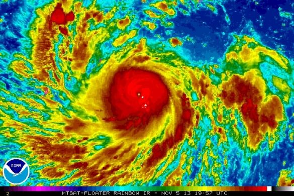 Signal Number 4 in 5 Eastern Visayan areas - Samar, Eastern Samar, Leyte, Southern Leyte and Biliran. Super Typhoon Yolanda RP-bound. http://wp.me/p3QDQJ-wf
