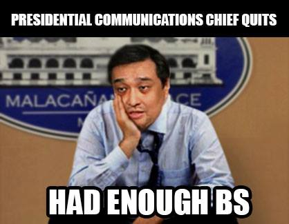 http://wp.me/p3QRCo-jj Secretary Carandang, in charge of the President's MESSAGE leaves the Cabinet. Fired out or burned out? Victim of Communications Office in-fighting, feuding and back-biting? https://www.facebook.com/balitang.balita.ngayon https://www.facebook.com/PhilippineOnlineNews
