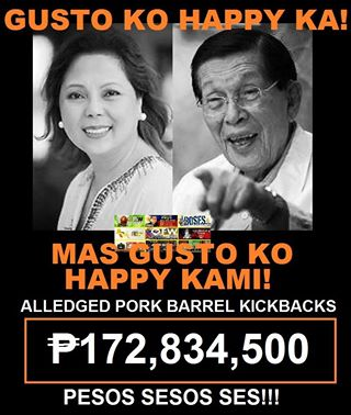 Plunder-charged former Juan Ponce Enrile GF (girl friday) back in RP. To tell all on JPE or to join JPE in lying through their teeth.