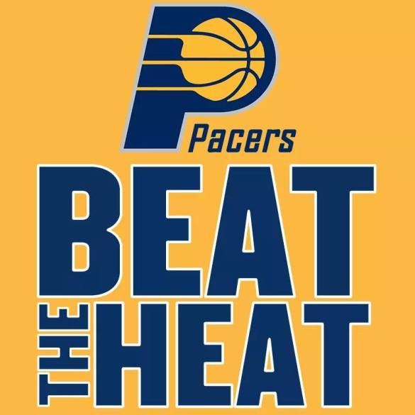 Indiana Pacers (107) Beat Miami Heat (96) in the first game of the NBA Eastern Conference Finals.