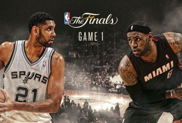 San Antonio Spurs take game 1 in NBA Finals with Miami Heat. https://www.facebook.com/groups/344821348978048 http://wp.me/p3QRCo-jS