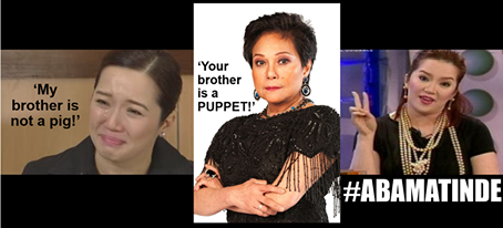 VIRAL CELEBRITY PICS. International and locally acclaimed Filipina actress and singer Nora Aunor, SUPERSTAR, not good enough for President Aquino as Philippine National Artist kasi para kay P-Noy si sister Kris Aquino ang tunay at kaisaisang SUPERSTAR. http://wp.me/p3QDQJ-G4