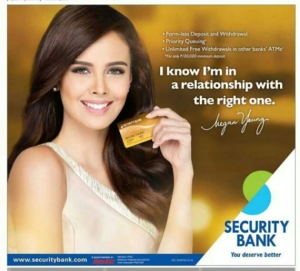 Security Bank Megan Young