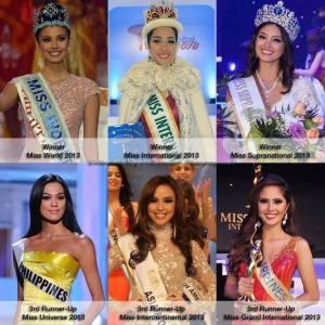2013 beauty titles