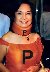 Former President Gloria Macapagal Arroyo, now on hospital arrest.
