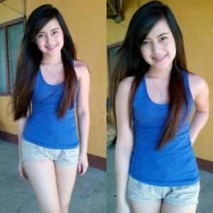 Commercial model Kim Ilagan - summer look