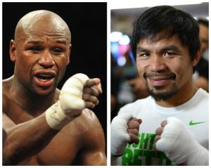 Mayweather Pacquiao - the fight of the century