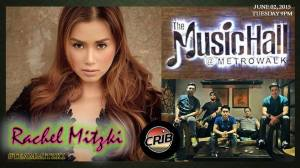 Team Rachel Mitzki with Crib Band on June 2, 2015 (Tuesday), 9pm onwards at the Music Hall, Metrowalk. Ortigas Pasig City