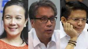 Poe-Roxas or Poe-Escudero  would either downgrade or dump Mar Roxas