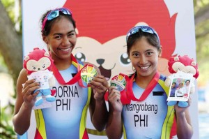 2015 SEA games triathlon winners