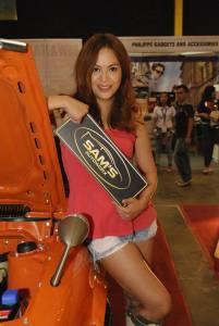 Car Show Models Philippines FB fan page admin Karen Winquel