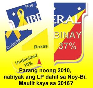 President Aquino Coalition and Liberal Party could both SPLIT on who among their alliance members to support for President in 2016.
