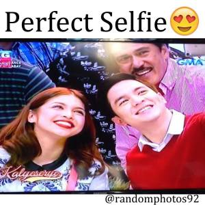 AlDub in a Perfect Selfie. GMA7, Eat Bulaga, Kalye Serye to make Philippine Entertainment History.