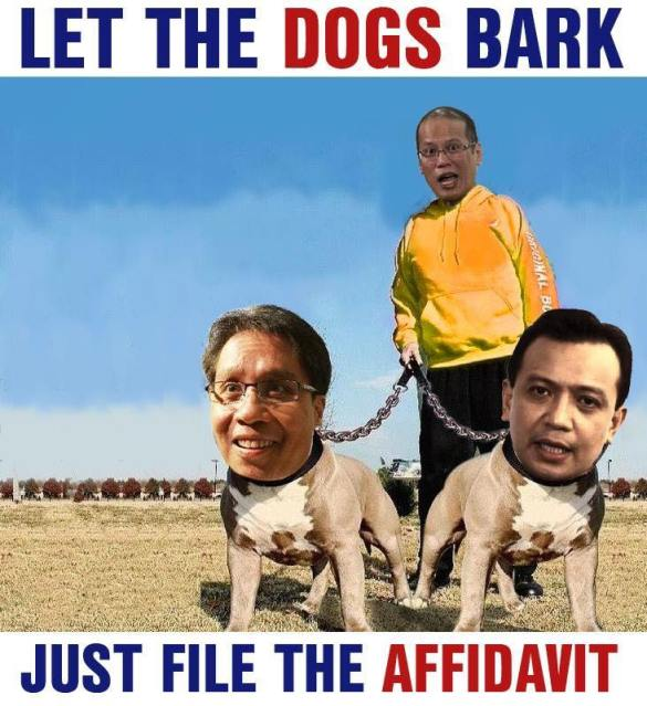 mar trillanes dogs