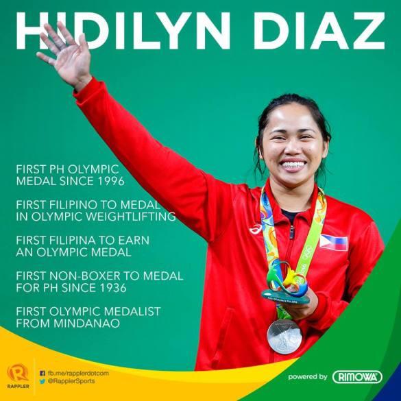 olympics diaz silver