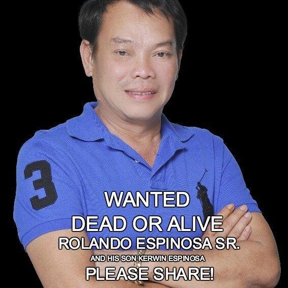 pnp espinosa wanted