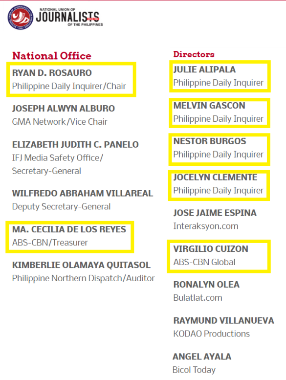 inq abs nujp officers