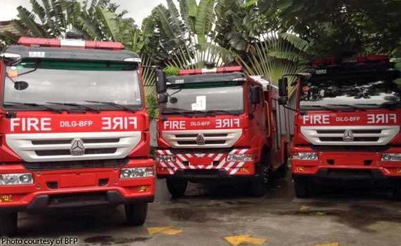 dilg fire trucks