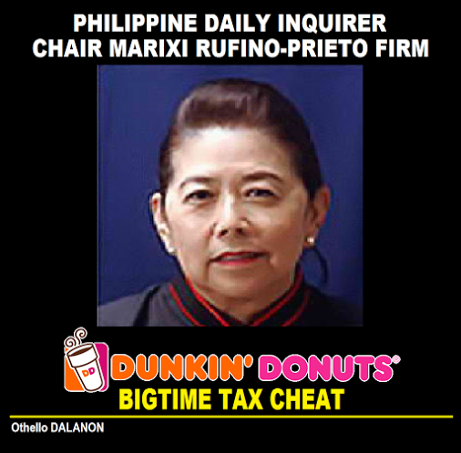 pdi dunkin tax cheat