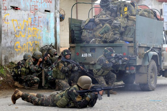 marawi govt troops