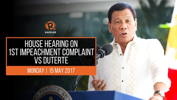 rappler duterte impeachment