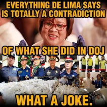 de lima doj contradiction