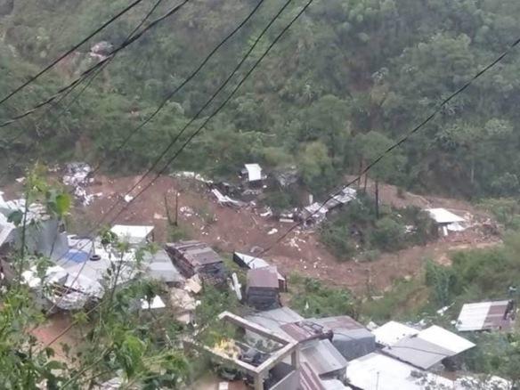 rp 2018 sept 16 itogon, benguet landslide