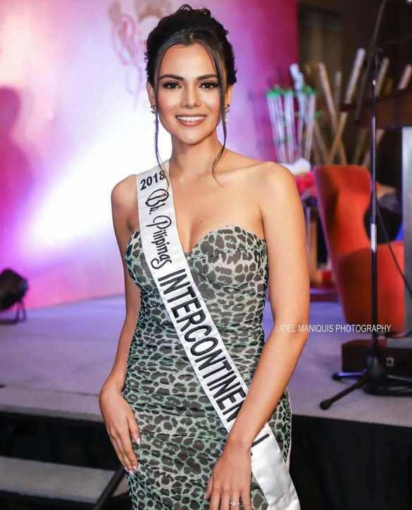 wow Karen Gallman Miss Intercontinental Philippines 2018